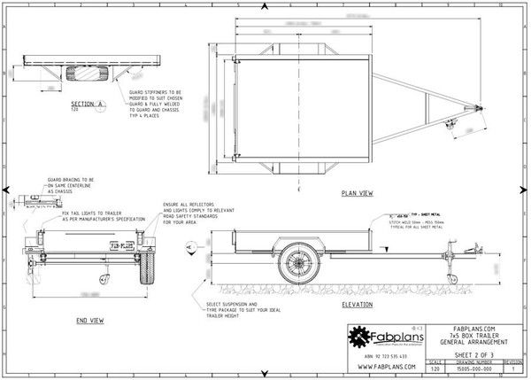 Superb Build Your Own Box Trailer With These Professionally Designed And Largest Home Design Picture Inspirations Pitcheantrous