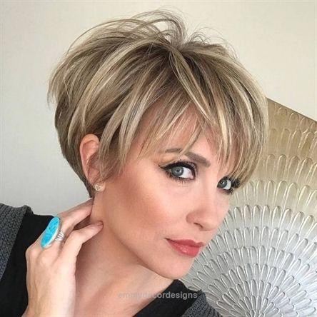 Coiffures courtes pour femmes; Coupes de cheveux courtes et élégantes tendances en 2019; Coiffures à la mode un