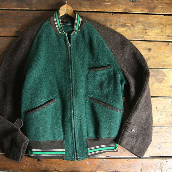 "30s ""SNOPAL"" WOOL SPORTS JACKET - MATIN, VINTAGE OUTFITTERS ビンテージ古着 富山"