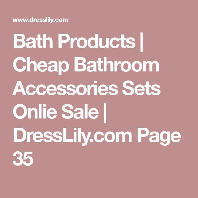 Bath Products | Cheap Bathroom Accessories Sets Onlie Sale | DressLily.com Page 35