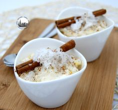 Budino di riso al latte di cocco