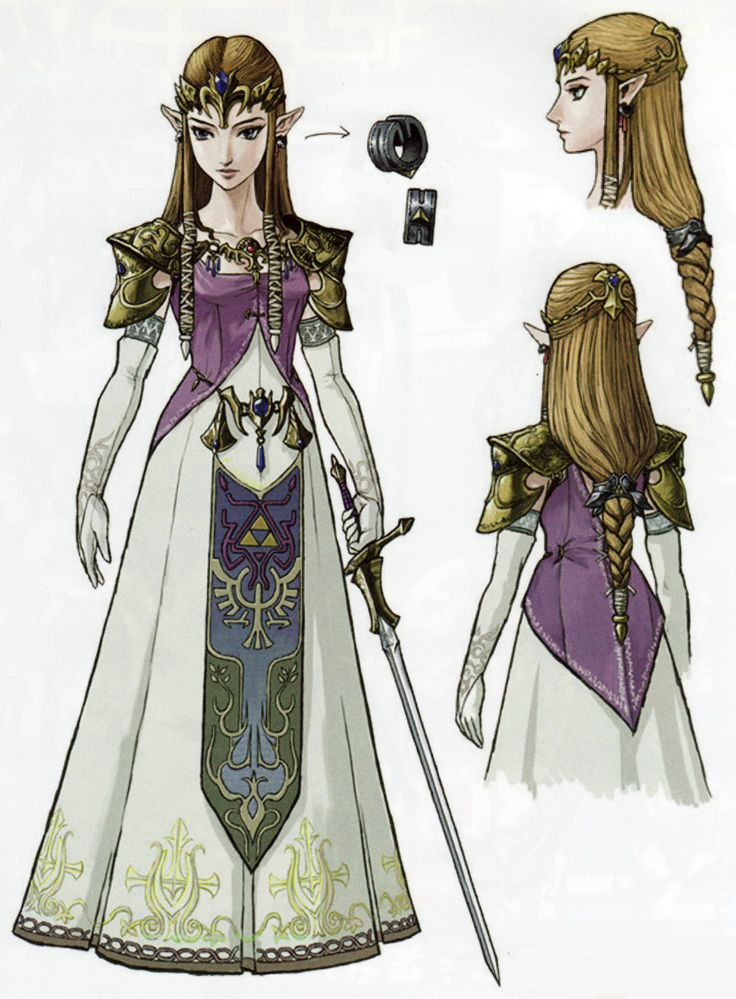 The legend of zelda Twilight Princess Daily Nintendo Concept Art 33