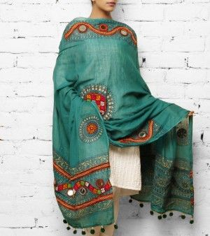 3282070-green-cotton-dupatta-kutch-embroidery.jpg (300×338)