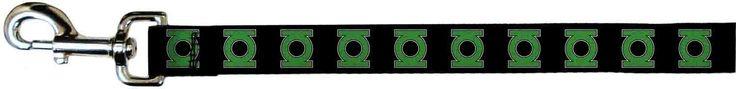 Green Lantern DC Comics Superhero Classic Green Logo Fun Pet Dog Cat Leash * To view further, visit now : Dog leash