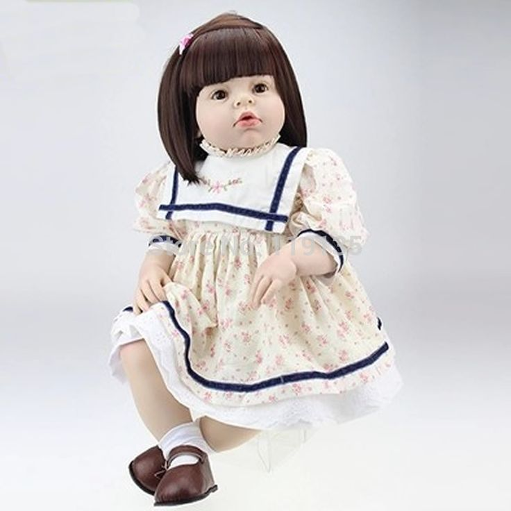 144.49$  Buy now - http://alia5t.worldwells.pw/go.php?t=32298402777 - cheap price 70cm big handmade lifelike bonecas bebe reborn baby doll fashion real touch reborn sexy girl toddlers adora doll 144.49$