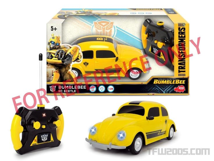 Bumblebee toy from the 2018 movie