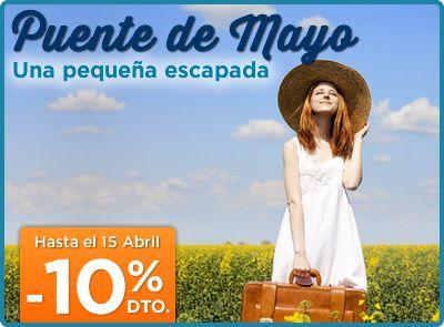 Ofertas de viajes, vuelos , escapadas ...venta anticipada  puente de mayo aprovecha las ofertas www.elquenocorrevuela.com