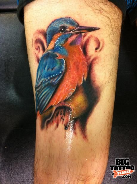 best 25 colorful bird tattoos ideas on pinterest