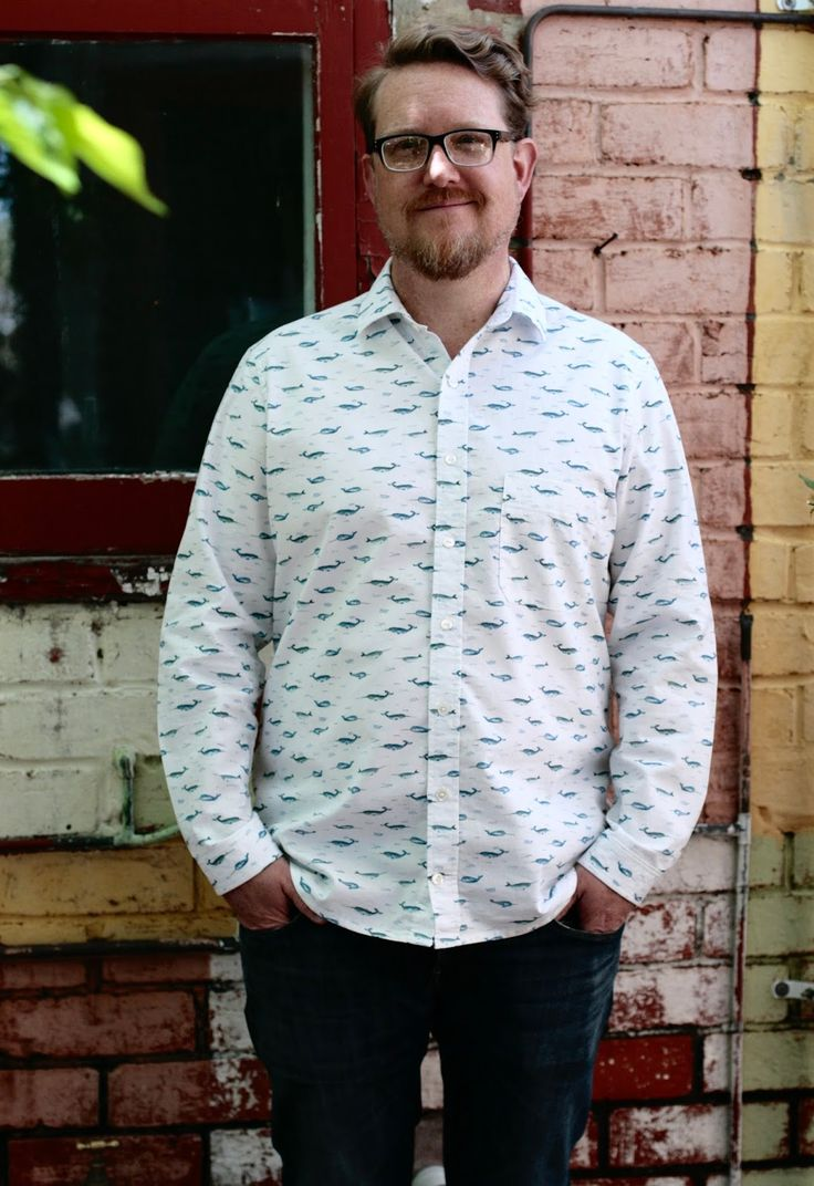 THE DRAPERY: Spring Tops Series - The Fairfield Buttonup by Thread Theory