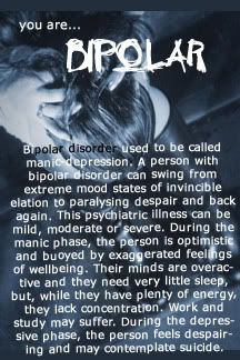 A brief explanation about Bi Polar Disorder and the ups and downs faced everyday.