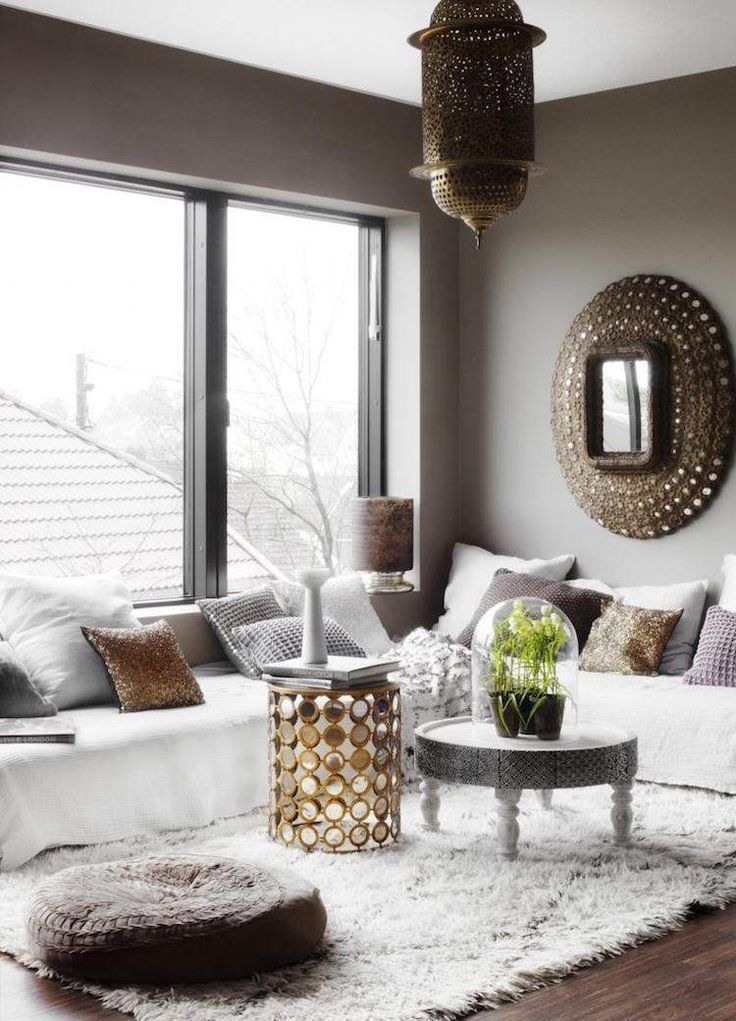 Modern Moroccan Living Room Decoration Bring The Oriental