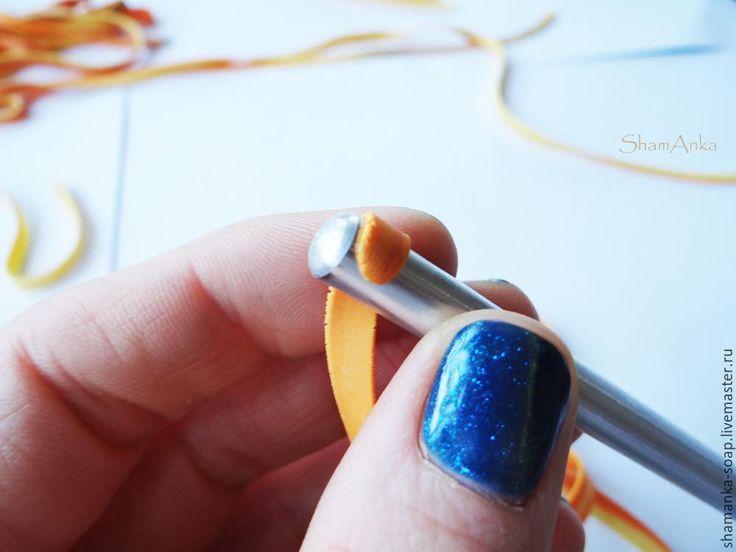 Мыльница «Падающие листья в осенние лужи», или «Краски осени» из полимерной глины - Ярмарка Мастеров - ручная работа, handmade