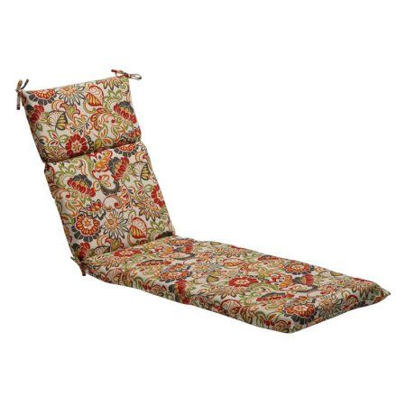 This chaise lounge cushion is a great way to bring style and comfort to  your patio with its durable construction fade resistant fabric and ties  that fasten ... - Ideas About Cheap Patio Cushions On Pinterest Cheap