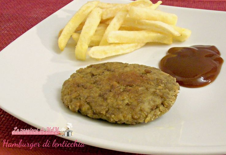 hamburger di lenticchia
