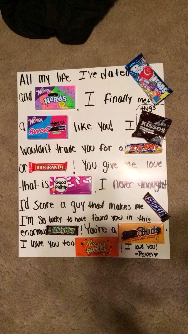 Cute Boyfriend Gift Ideas Made By Myself Super Easy