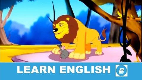 Rövid történet angolul. The Lion and the Mouse. Szint: alapfokú - középhaladó. Nyelvtanulók számára adaptált változat.