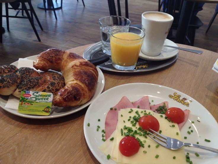 Pikantes Frühstück, Ströck/Wien