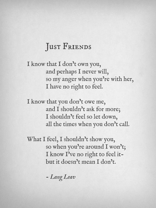 "Hmmm...perfect read for someone who just needs to MOVE ON, and FORGET even being ""just friends"" <--- Not my description. Whoever said that is just too cruel. Once you've fallen in love, you can't undo it. You can't fight destiny. Yeah, you can find someone else but you'll know in your heart this isn't meant to be. Don't give up on him. Don't do that to yourself."
