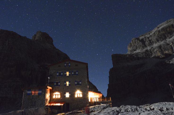 Una notte al rifugio Tosa-Pedrotti