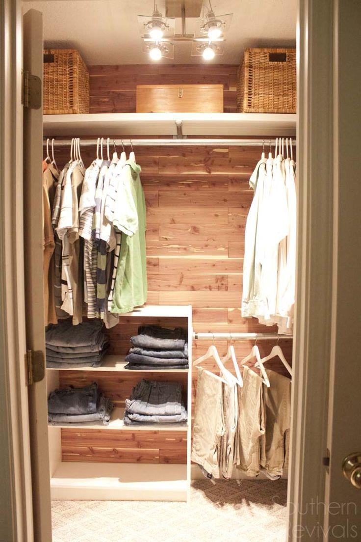 Best 25 man closet ideas on pinterest mens closet for Mens closet organizer