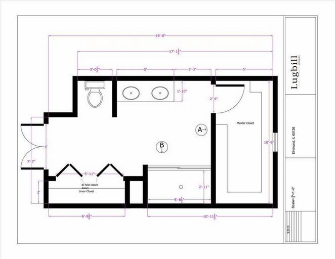 39 Things To Consider For Master Bedroom Design Layout Floor Plans Bathroom Floor Plans Small Bathroom Floor