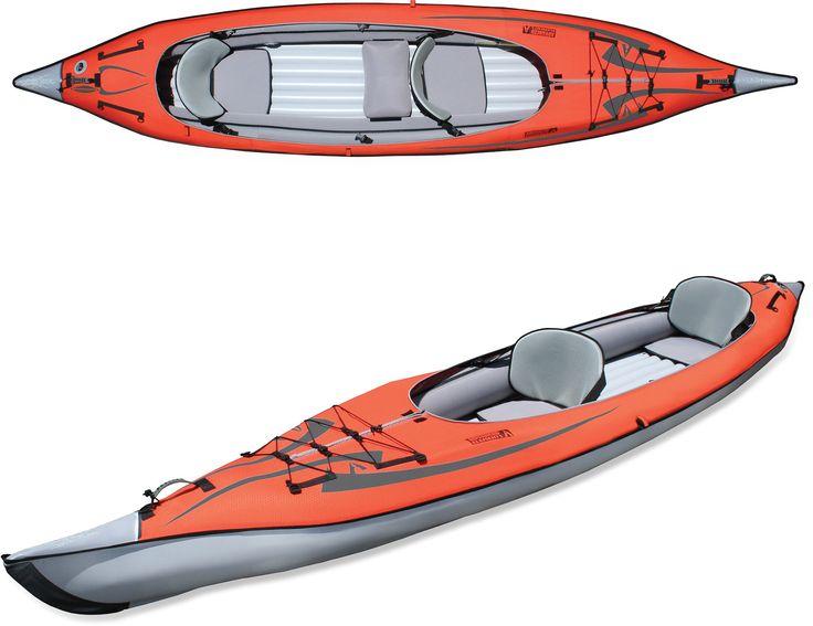 Advanced Elements AdvancedFrame Convertible Inflatable Kayak at REI.com