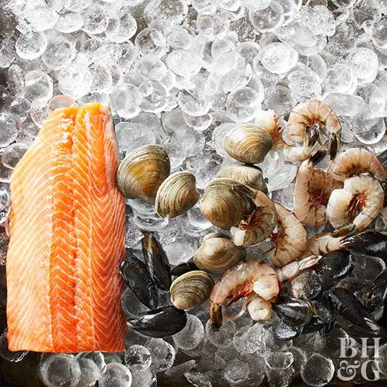 Seafood is a win-win in our book!