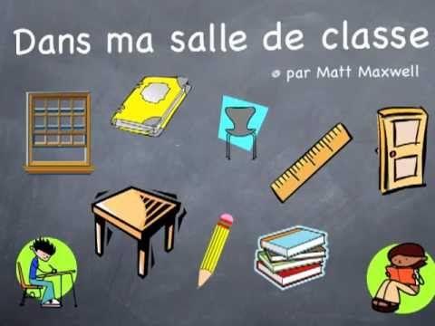 Dans ma salle de classe - Le clown Alexandre Upbeat, sous-titres en français, bon pour la classe