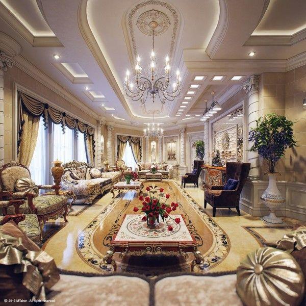 роскошная вилла гостиная 5