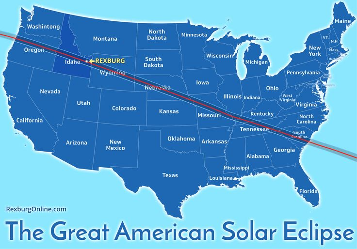 See if you live on the lie of the solar eclipse.