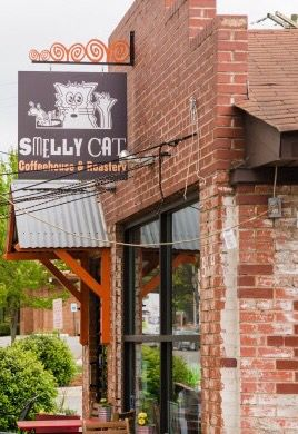 Smelly Cat Coffee house in Charlotte, NC