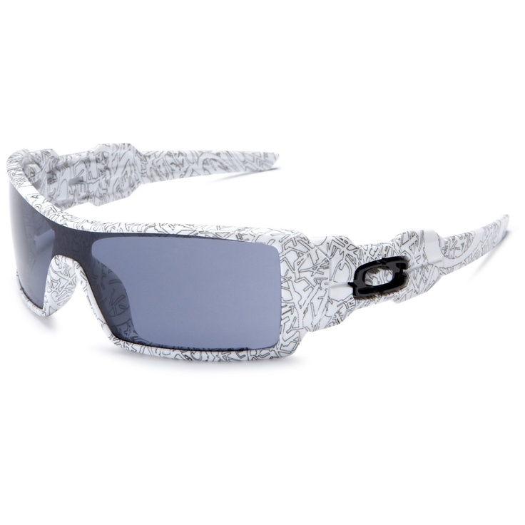 cheap oakley oil rig white text