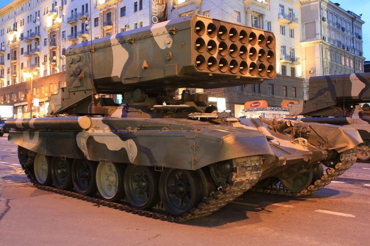 The Russian Military Loves Its Thermobaric Rocket Tanks — War Is Boring — Medium