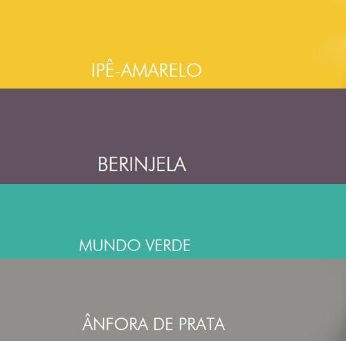 Mu00e1s de 1000 ideas sobre Cores De Tintas Suvinil en Pinterest : Tintas ...