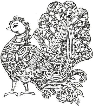 Kalamkari Artwork, origin- India