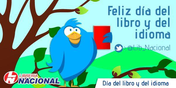 #DíadelLibroLN Feliz día del libro y del idioma
