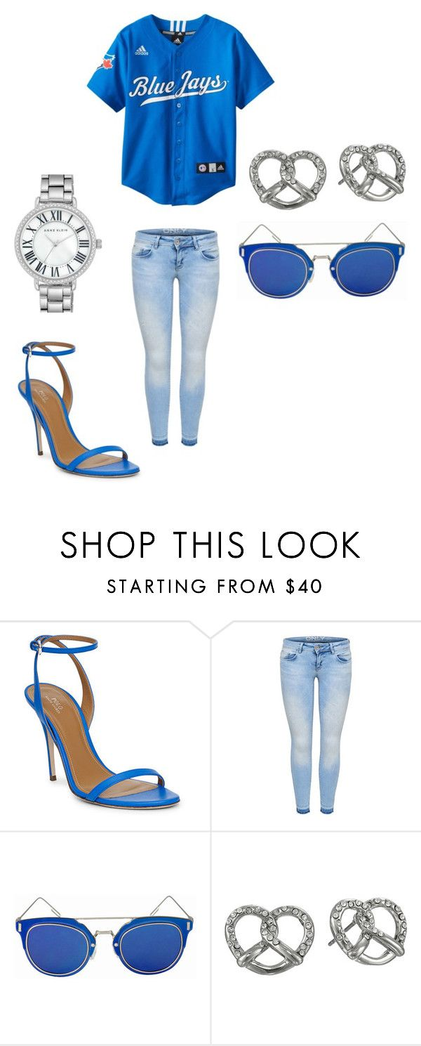 """""""Toronto Blue Jays"""" by hisabella on Polyvore featuring Ralph Lauren, Marc by Marc Jacobs and Anne Klein"""