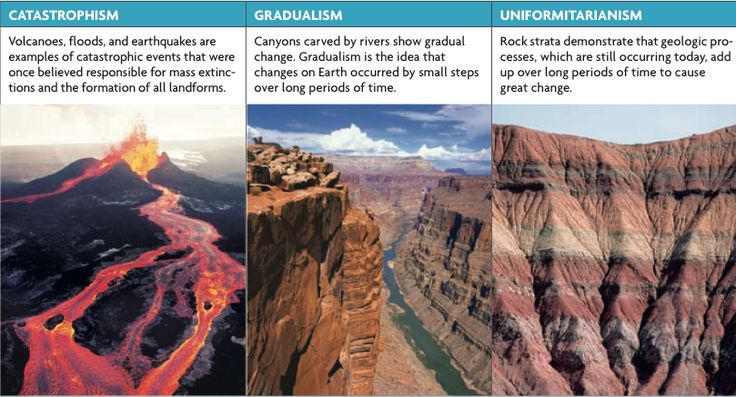 Theories Of Geological Evolution  Catastrophism Vs