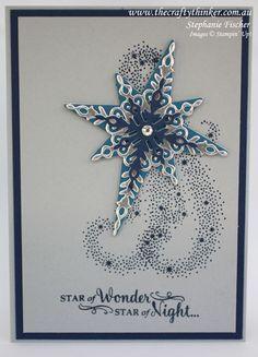 Stampin Up, #thecraftythinker, Christmas Card set, Star of Light