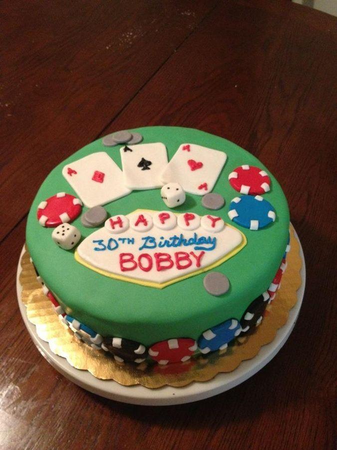 Vegas casino cake — Birthday Cakes