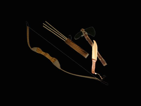 Check out this item in my Etsy shop https://www.etsy.com/listing/251247347/bow-and-arrow-combination-set-wooden