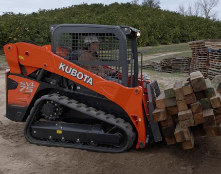 Kubota Tractor Corporation - Construction Equipment SVL75-2