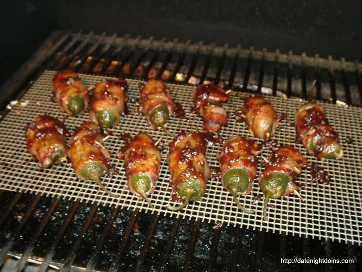 Smoked Jalapeno Poppers pellet grill BBQ smoker recipe