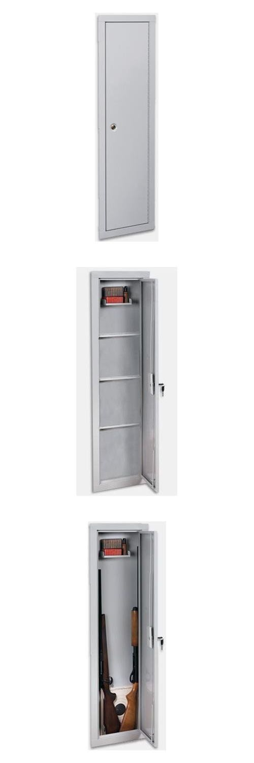 Cabinets and Safes 177877: Stack-On Iwc-55 Full-Length In-Wall Gun Storage Cabinet (Tax Free) -> BUY IT NOW ONLY: $82.54 on eBay!