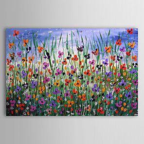olieverfschilderij bloemen 1211-fl0016 met de hand beschilderd doek