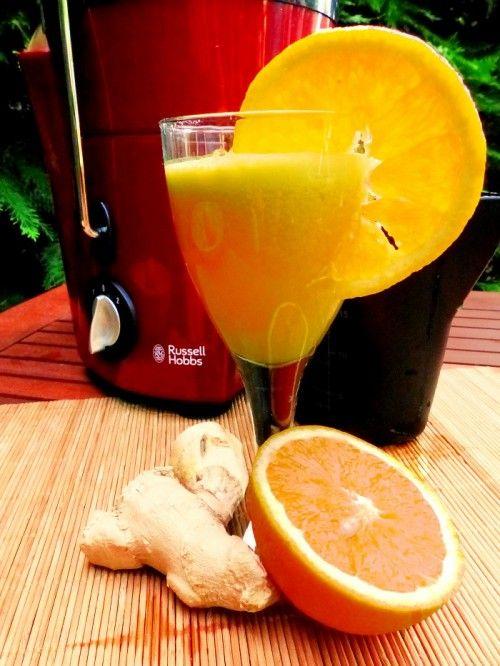 Gyömbéres narancsital