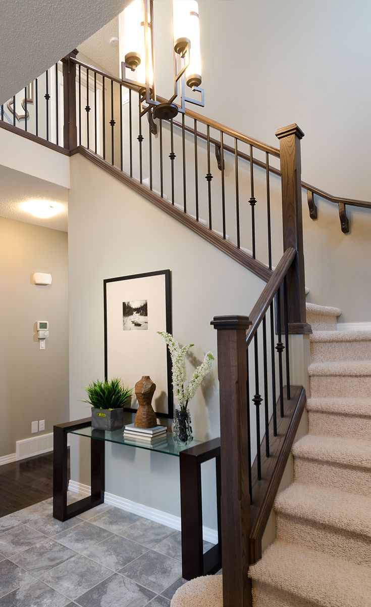 Entrance in the Westport home model