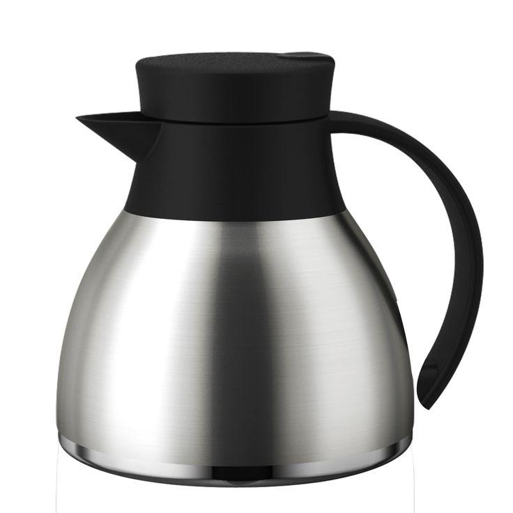 Ref.: TP6518 GARRAFA TERMICA AÇO-INOX DALIA 1L  Nada como tomar um cafezinho quentinho, não é mesmo? A garrafa térmica Lilac da Termopro atende as necessidades de sua casa ou escritório! Ela é fabricada em aço inox de alta qualidade, com dupla parede interna que gera isolamento a vácuo para manter as bebidas quentes por 12 horas ou geladas por 24 horas, além disso é muito resistente e fácil de limpar. O produto está disponível em cinco capacidades: 350 ml, 600 ml, 1.000 ml, 1.600 ml e 2.000…