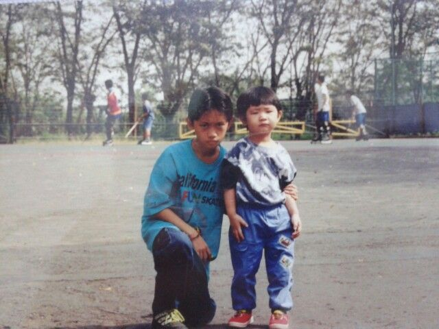 That's me with my bro :D