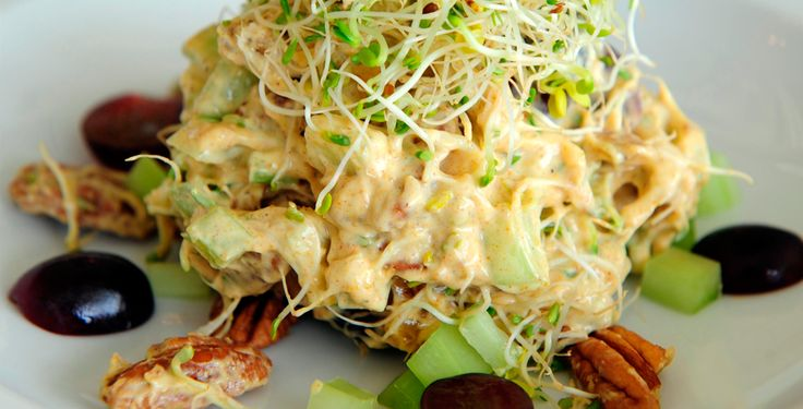 Blog da RICA - Você mais saudável - Salada de frango